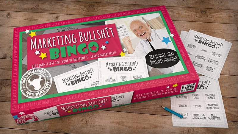 De Marketing Bullshit Bingo: speel jij mee?
