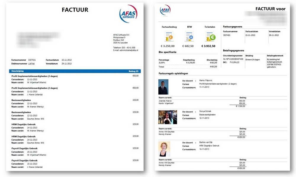 AFAS brengt fun in de factuur met de Factuurwijzer   AFAS Software