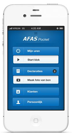 AFAS Software lanceert app voor mobiel administreren - AFAS Software