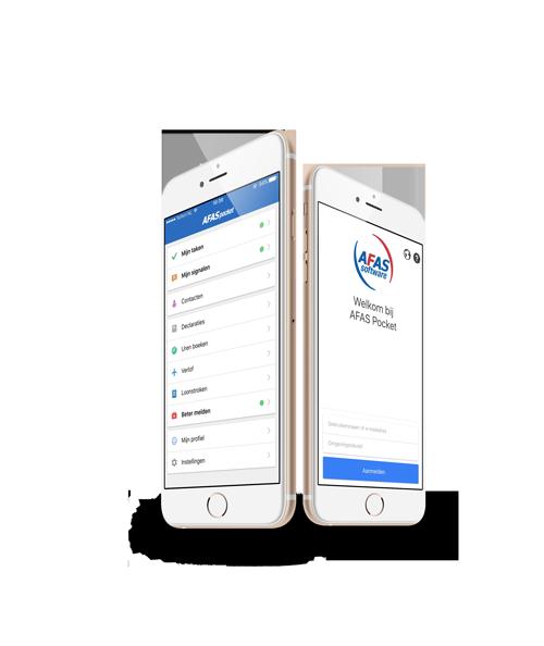 De AFAS Pocket App loopt als een trein - AFAS Software