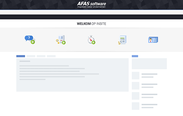 InSite als intranet