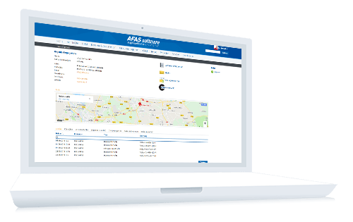 CRM Software van AFAS
